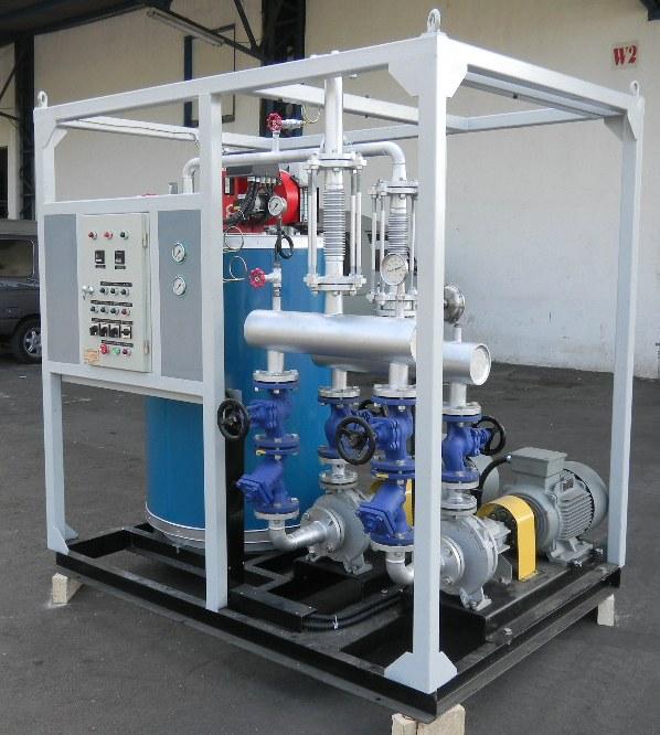 CV. Alpha Omega - Produk - Heaters - Thermal Oil Heater