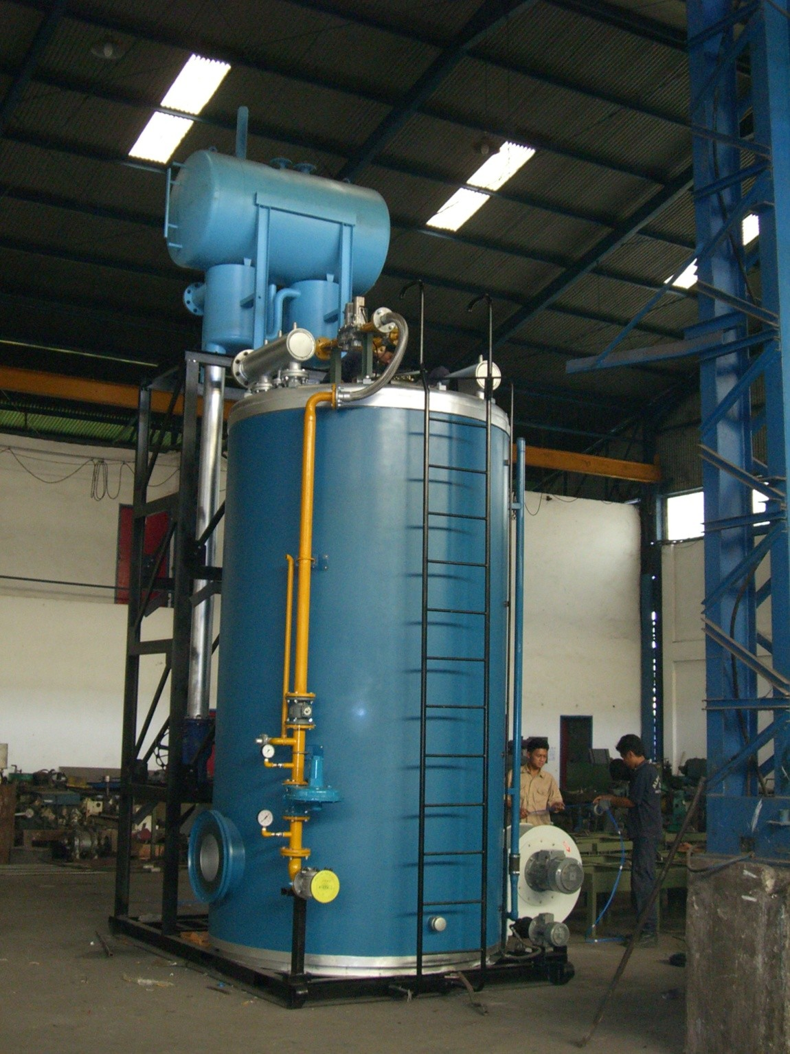 CV. Alpha Omega - Produk - Heaters - Thermal Oil Heater